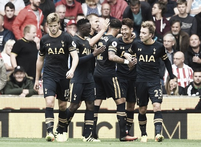 Stoke City 0-4 Tottenham Hotspur: Inspirational Son showing sees Kane end goal drought