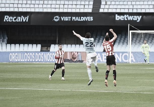 Celta de Vigo 0-0 Athletic Club: un justo reparto de puntos