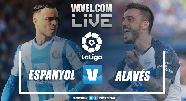 Resumen Espanyol vs Alavés (2-0)