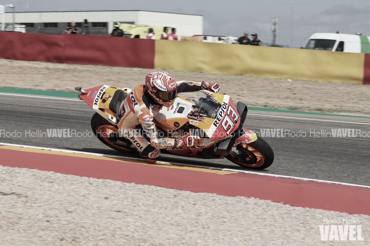 Márquez cierra el sábado con una apretada pole position
