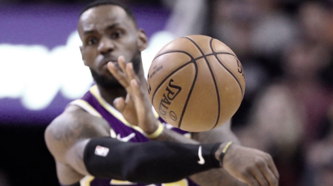 LeBron James Leads NBA In Assists