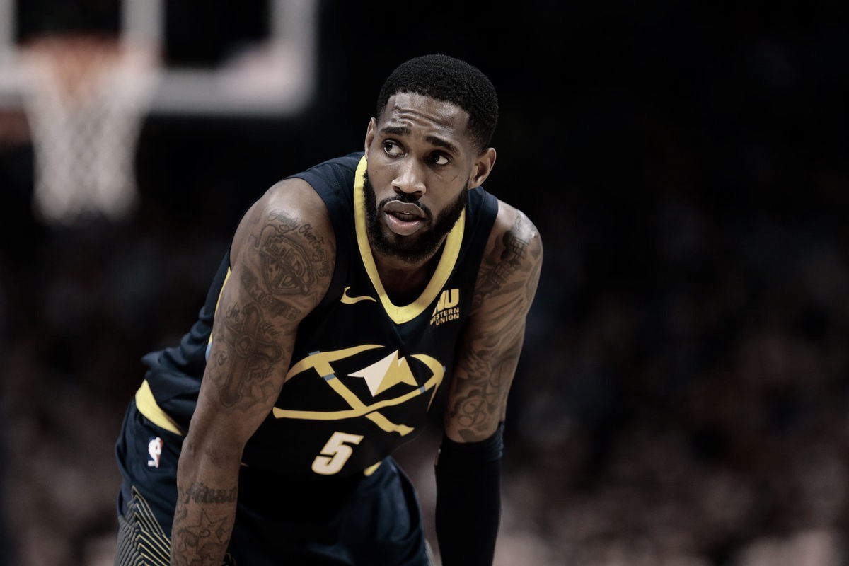 Will Barton Out Indefinitely