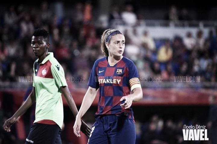"""Alexia Putellas: """"Es fundamental ganar en Moldavia para estar en Inglaterra"""""""