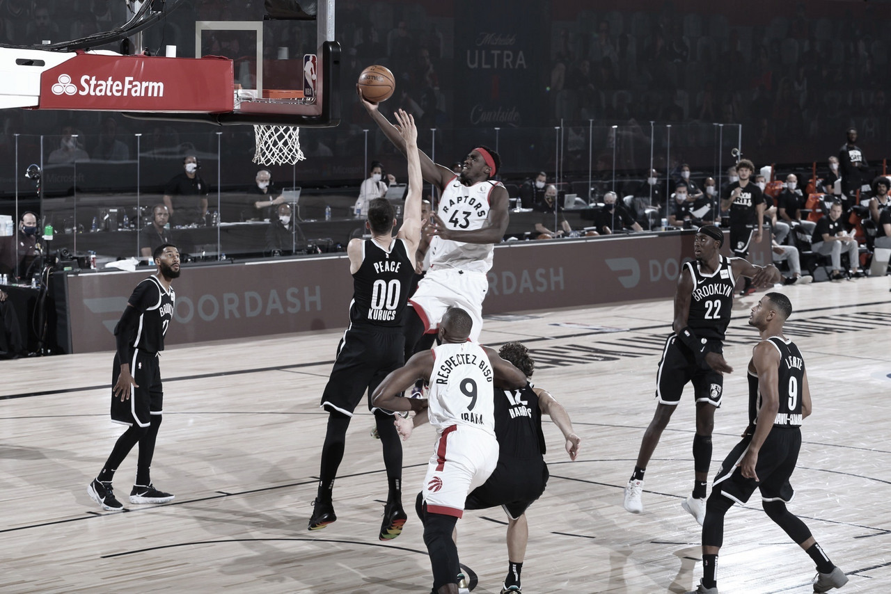 Raptors Send Nets Back To Brooklyn
