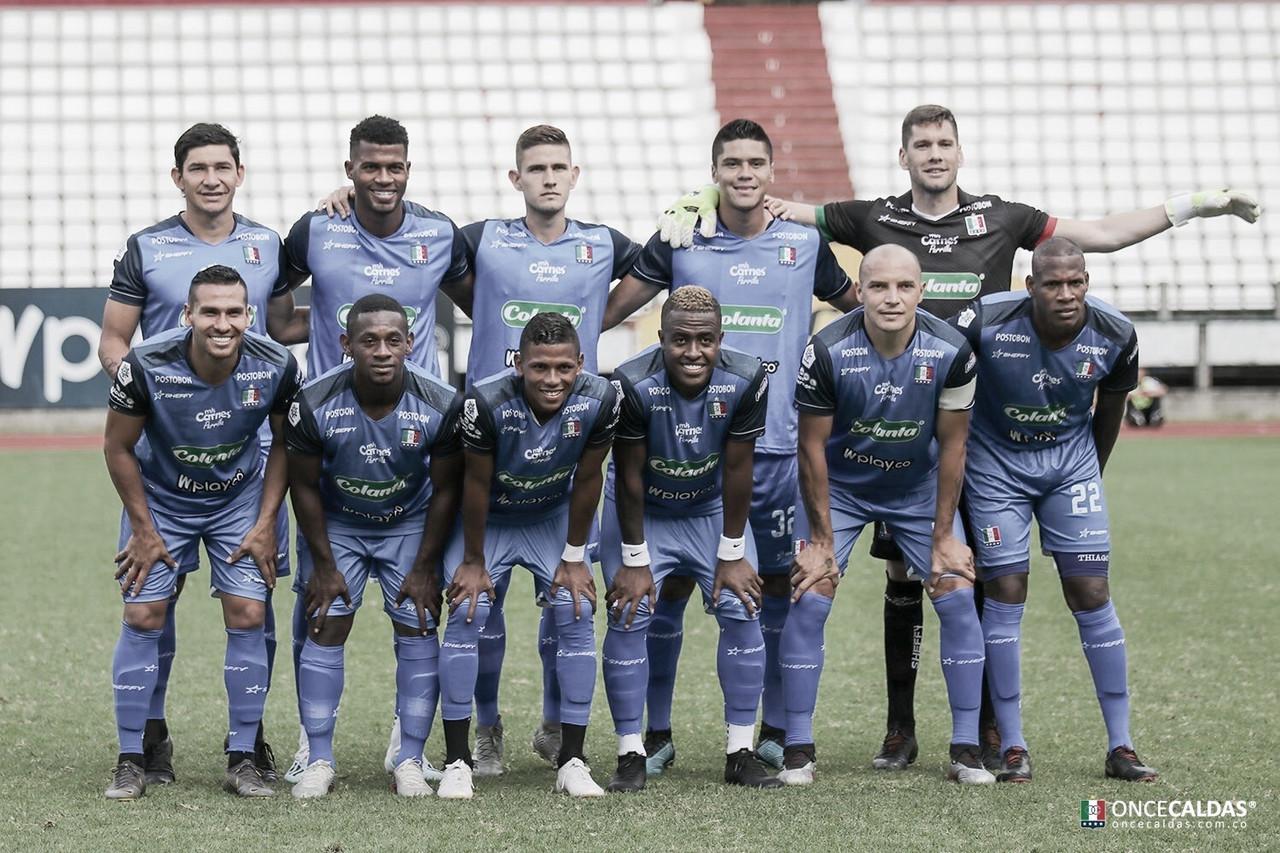 Convocados en Once Caldas ante Independiente Santa Fe