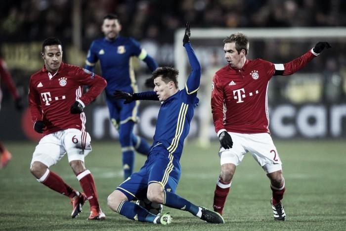 El frío ruso vuelve a golpear al fútbol alemán