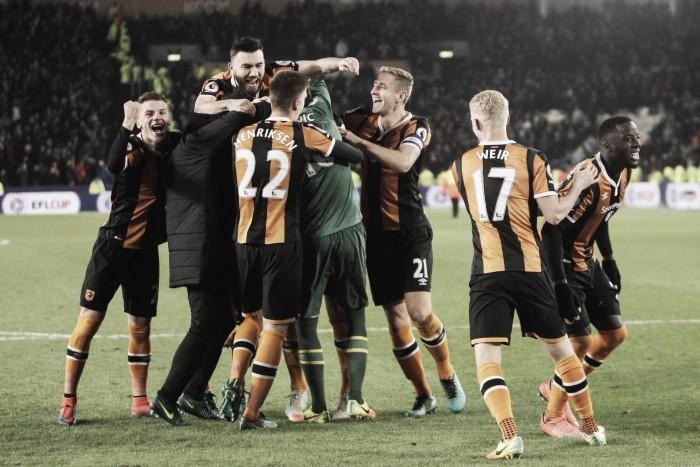 El Hull City se mete en semifinales de copa gracias a los penaltis