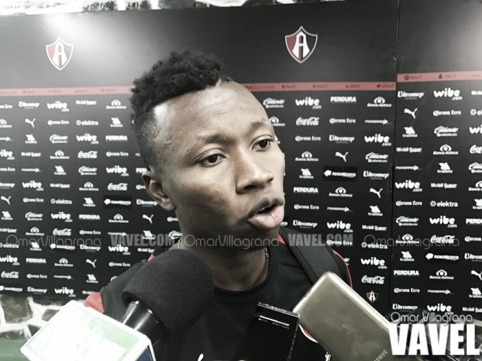 """Clifford Aboagye: """"Es justo el empate"""""""
