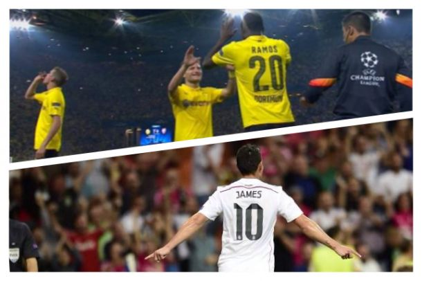 James Rodríguez anotó gol y Adrián Ramos debutó en la UEFA Champions League