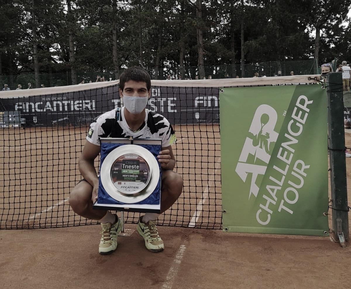 'Carlitos' Alcaraz triunfa en Italia