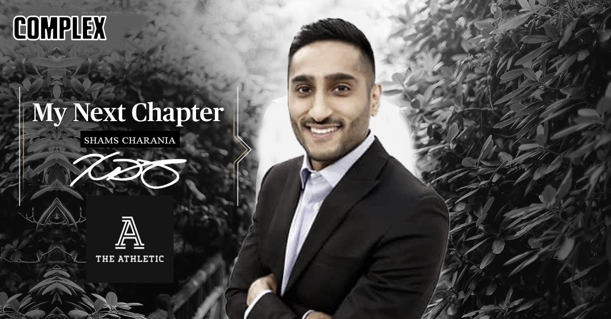 Shams Charania Re-Signs With The Athletic