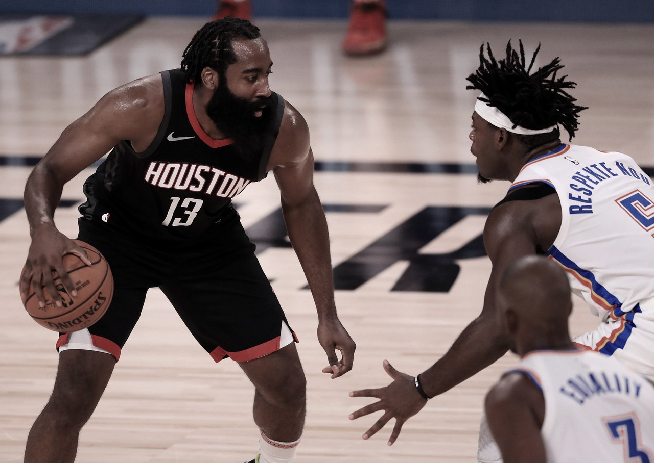 Harden gets last laugh as Rockets hold off Thunder in Game 7