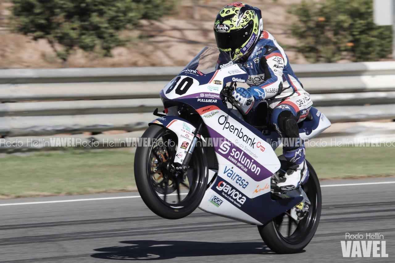 Alonso en la última vuelta en carrera.Foto: Rocío Hellín | Vavel España.