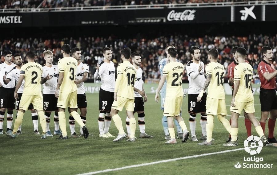 Valencia 2-1 Villarreal: el 'submarino' cae en Mestalla