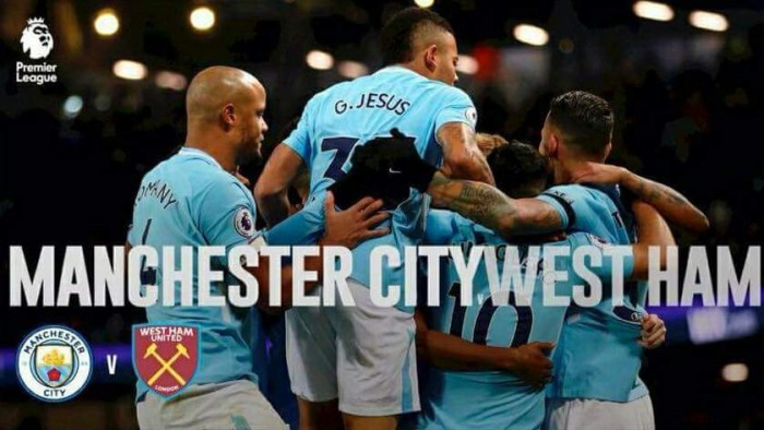 Resumen Manchester City 2-1 West Ham en Premier League 2017