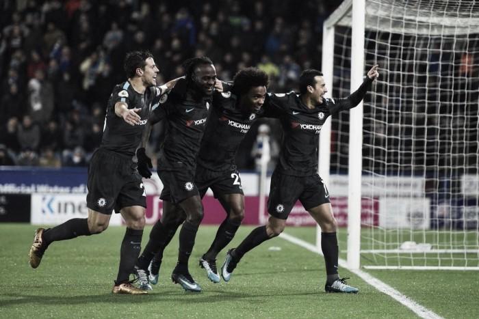 El Chelsea se impone en Huddersfield sin despeinarse