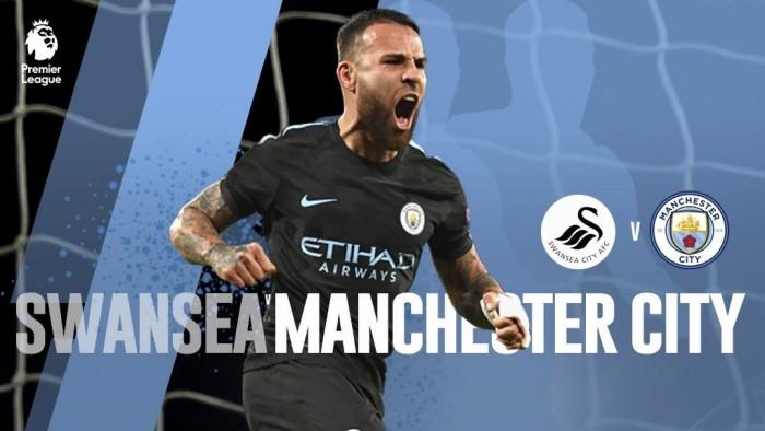 Resumen Swansea 0-4 Manchester City en Premier League 2017