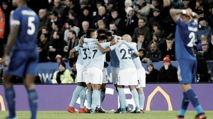 Resumen Leicester City 1-1 Manchester City en Carabao Cup 2017