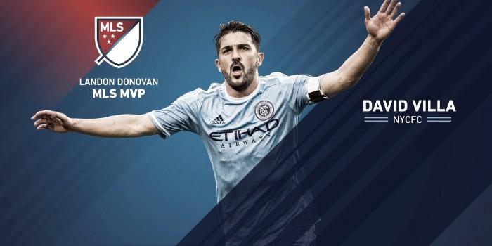 David Villa, mejor jugador de la MLS