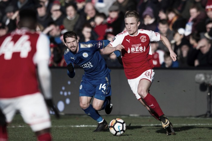 Resumen Leicester 2-0 Fleetwood Town en FA Cup 2018
