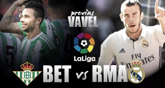 Previa Real Betis - Real Madrid: romper la regularidad
