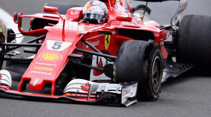 F1, Ferrari - Pirelli conferma, per Vettel una banale foratura