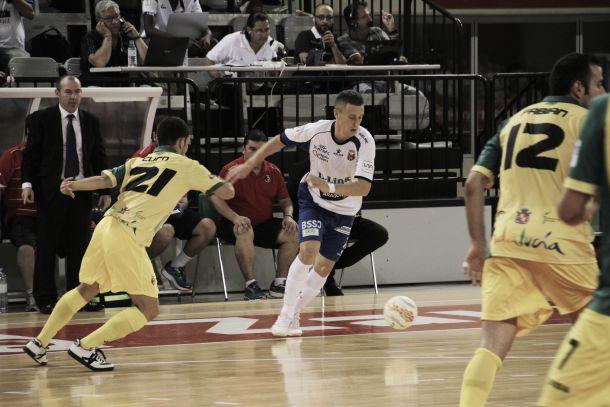 """Dani Rodríguez: """"Sólo es un partido y tenemos que mejorar cosas"""""""