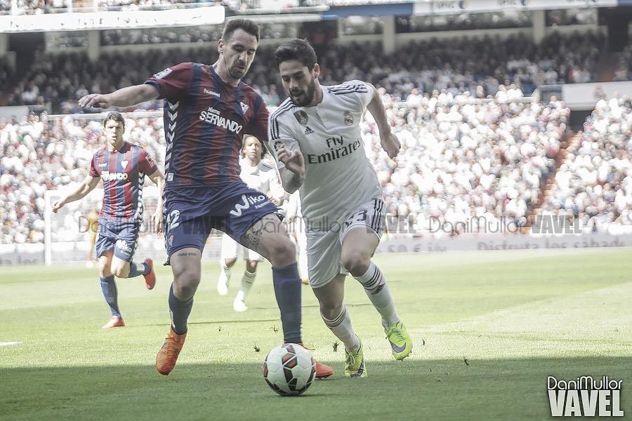SD Eibar: primer obstáculo del Real Madrid