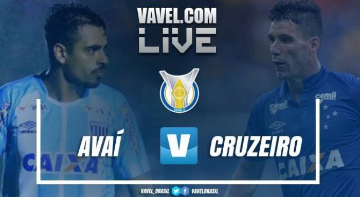 Resultado Avaí x Cruzeiro pelo Campeonato Brasileiro 2017 (1-0)