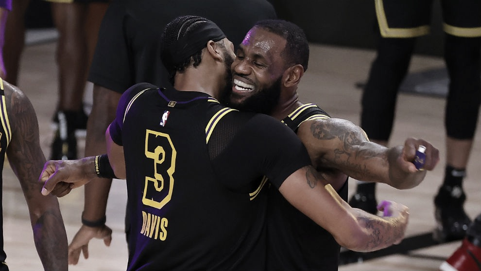 Los Angeles Takes Two Game Lead in NBA Finals
