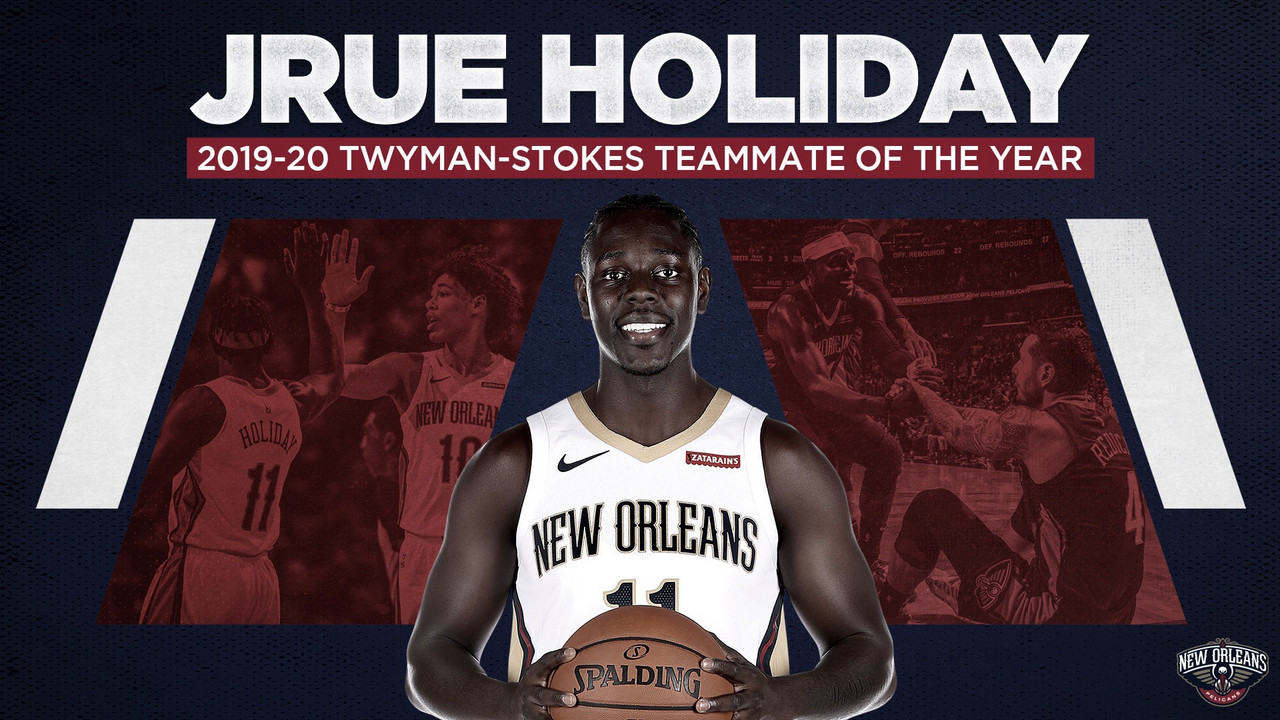 Holiday Wins 2019-20 Teammate of the Year Award
