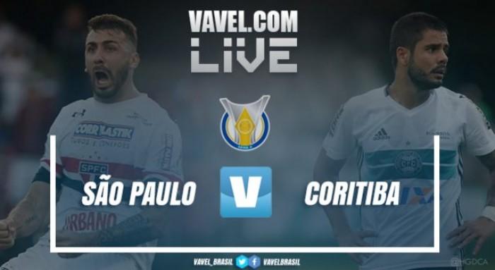 Resultado São Paulo x Coritiba no Campeonato Brasileiro 2017 (1-2)