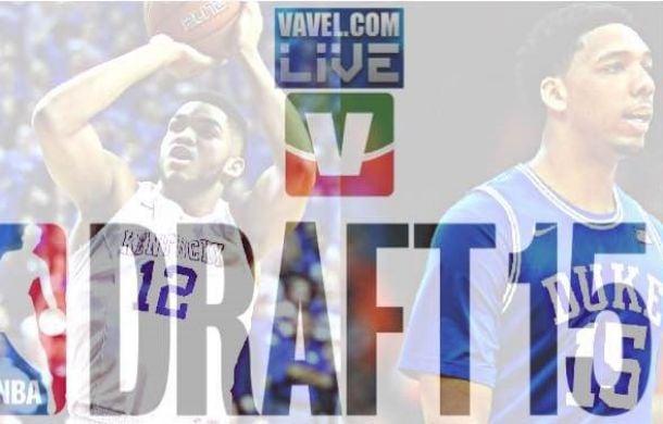 NBA Draft 2015, tutte le scelte del primo giro: Towns alla 1, Russell alla 2, solo terzo Okafor