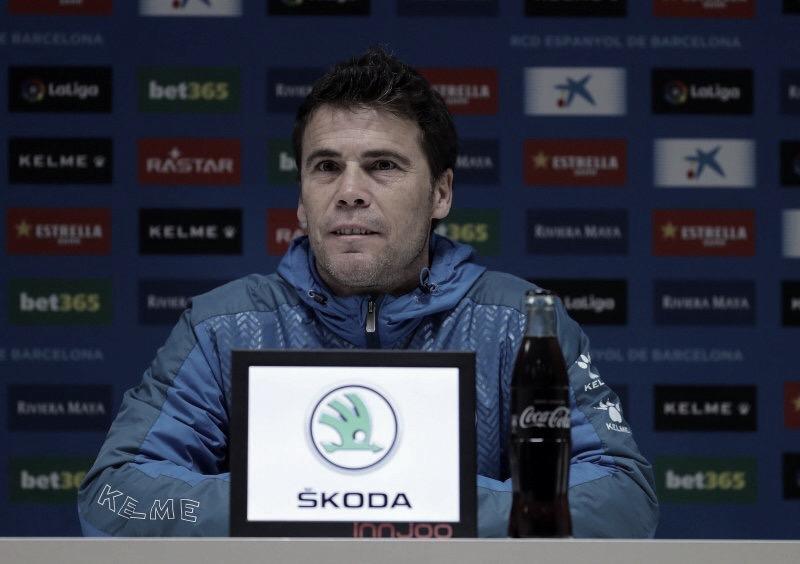 """Rubi: """"Queremos ser la primera plantilla de la historia que gana al Barça en nuestro estadio en liga"""""""