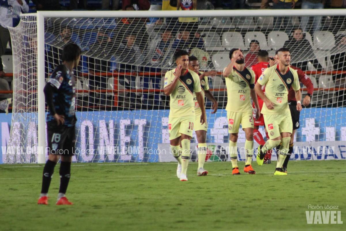 Imágenes del Pachuca 1-3 América Jornada 3 Liga Mx