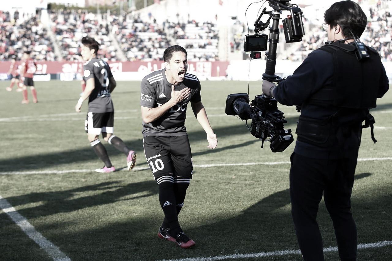 Rômulo afirma desejo de fazer boa temporada na Coreia pelo Busan I Park