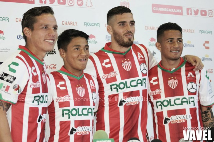 Necaxa presentó a sus refuerzos para el Clausura 2018