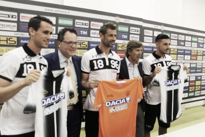 Udinese - Presentati Pezzella, Lasagna e Bizzarri