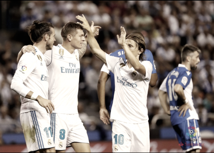 Así llega el Real Madrid en su visita a San Sebastián
