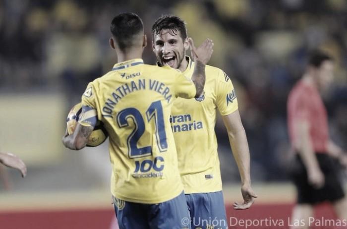 UD Las Palmas-Valencia: puntuaciones de Las Palmas Jornada 20