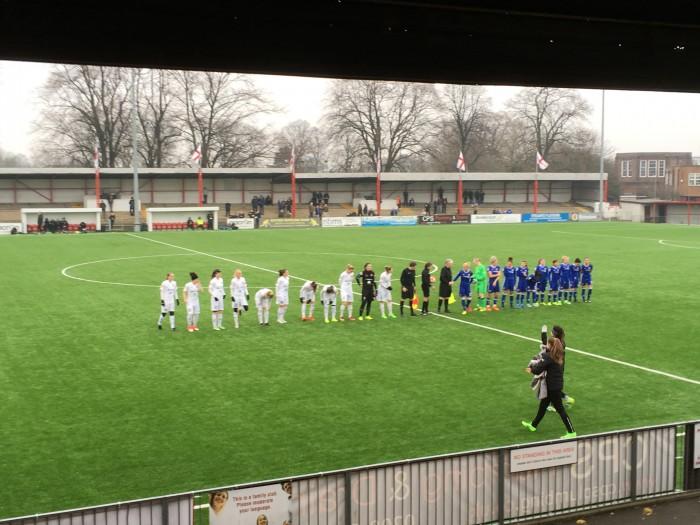 Chelsea 2-2 Rosengård: Spoils shared in Sutton