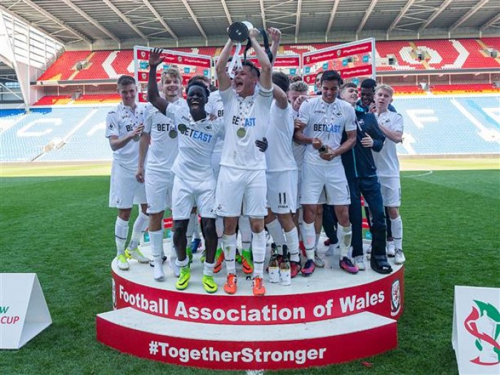 Swansea CityU19s crowned FAW Youth Cup Champions