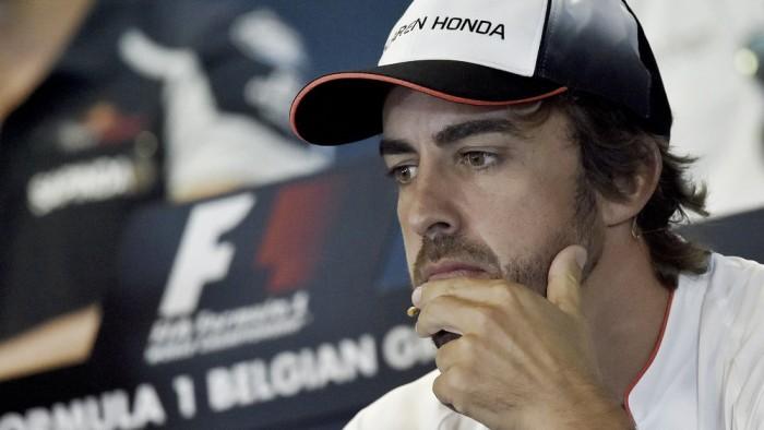 Alonso crítica mudanças na Fórmula 1 e afirma pensar em aposentadoria
