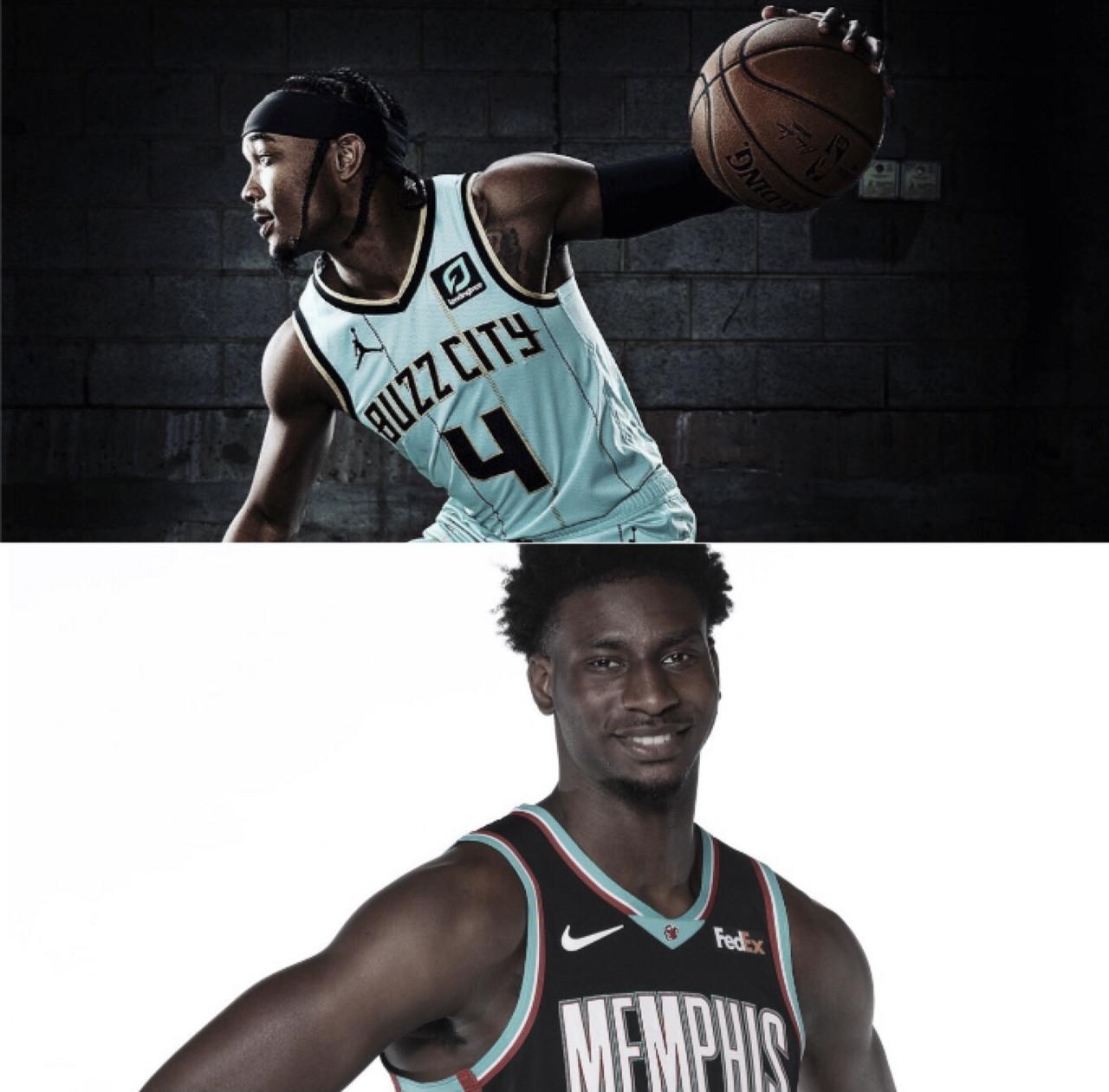 Hornets & Grizzlies Unveil New Threads