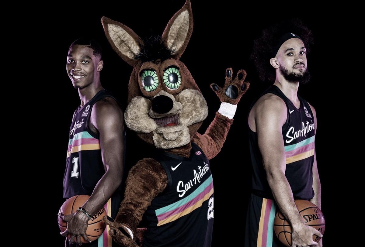 Spurs Bring Back 'Fiesta' Jerseys