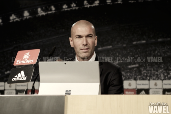 """Zidane: """"Quiero la máxima concentración a todos los niveles"""""""