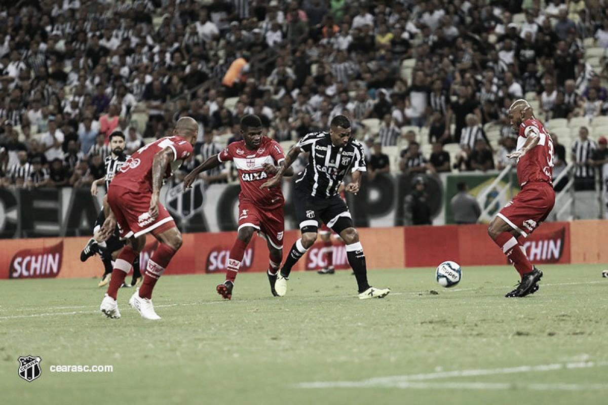 Ceará segura empate sem gols contra CRB e se classifica às semifinais da Copa do Nordeste
