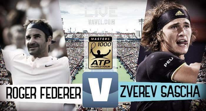 Alexander Zverev - Roger Federer in diretta, LIVE ATP Montreal (2-0)