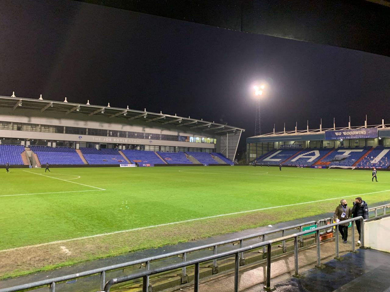 Oldham Athletic 0-1 Barrow AFC: Bluebirds earn late win at Boundary Park