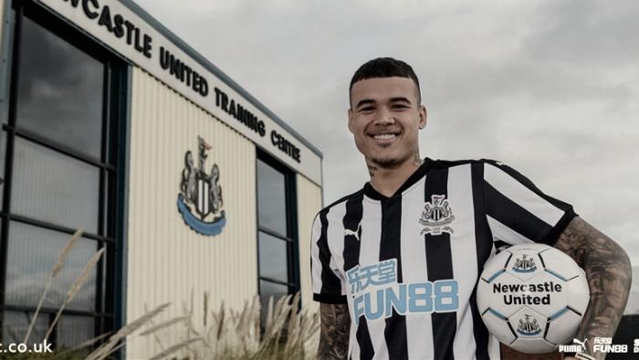 Sem espaço no Chelsea, brasileiro Kenedy é emprestado ao Newcastle